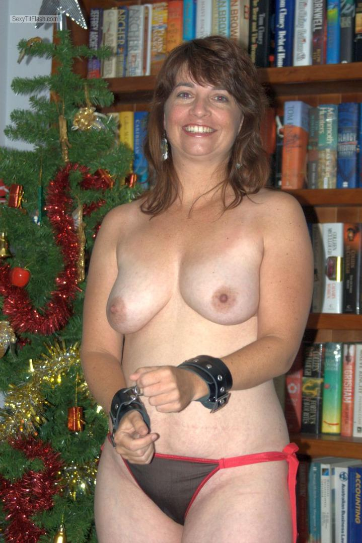 Big Tits Of My Ex-Wife Topless Jo